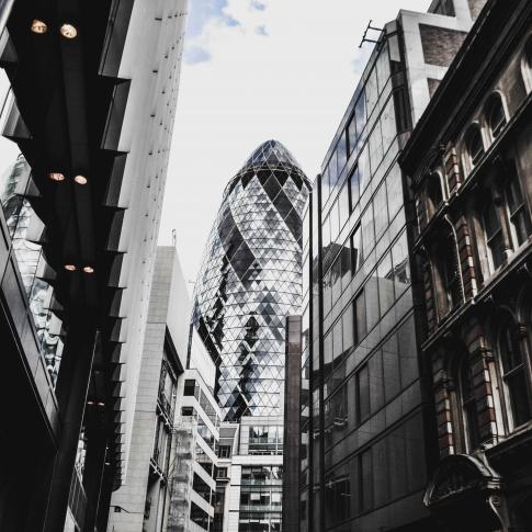 Gherkin London - City Landscape